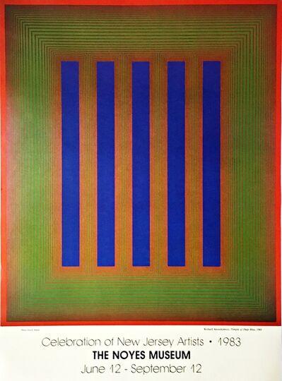 Richard Anuszkiewicz, 'Celebration of New Jersey Artists - Noyes Museum Poster', 1983