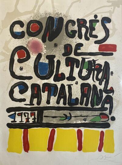 Joan Miró, 'Congres de Cultura Catalana', 1977
