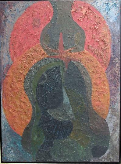 Pedro Coronel, 'Llanto Socavado', 1966