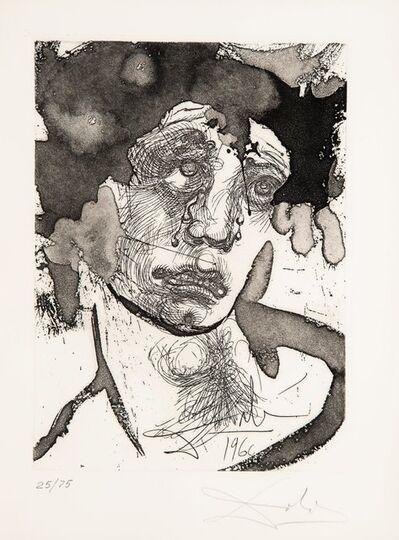 Salvador Dalí, 'Portrait de Sigismond, from Le vida es sueno', 1960