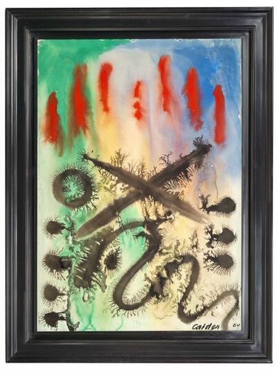 Alexander Calder, 'Underwater Sunset', 1964