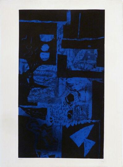 Antoni Clavé, ' Bleu Noir', 1968