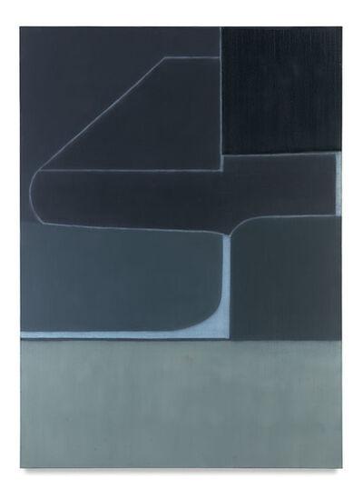 Suzanne Caporael, '717 (Blue almanac)', 2016