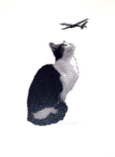 Patrick Lichty, 'RIC: Random Internet Cat vs. Predator #2', 2014