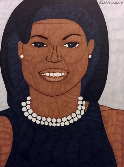 Kevin Wilson, 'Michelle Obama', 2017