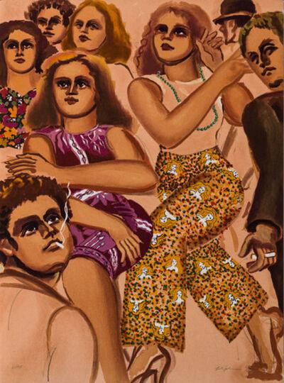 Lester Johnson, 'Group Scene Slacks', 1979