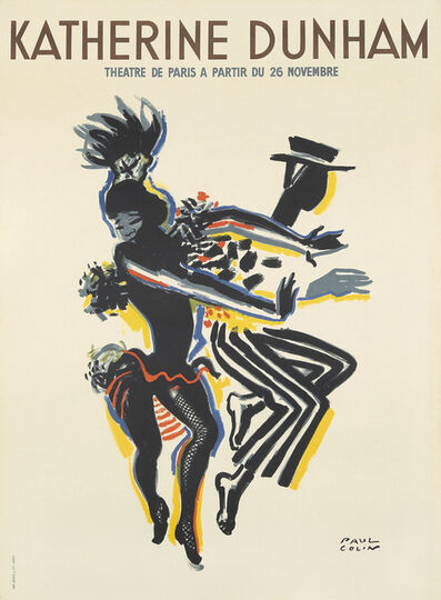 Paul Colin, 'Katherine Dunham', 1947