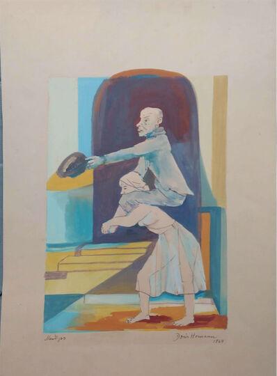 Doris Homann, 'Mendigos', 1964