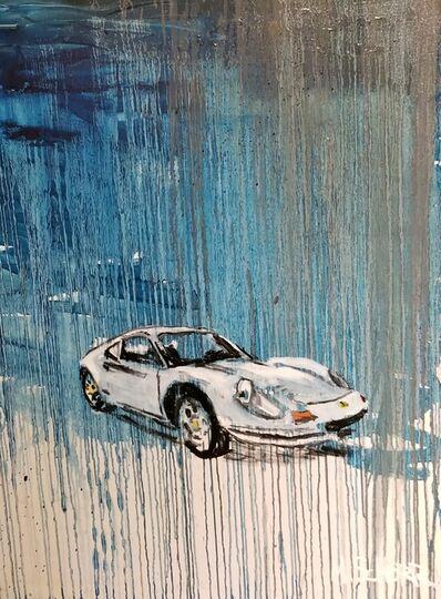 Mitchell Schorr, 'White Ferrari', 2018