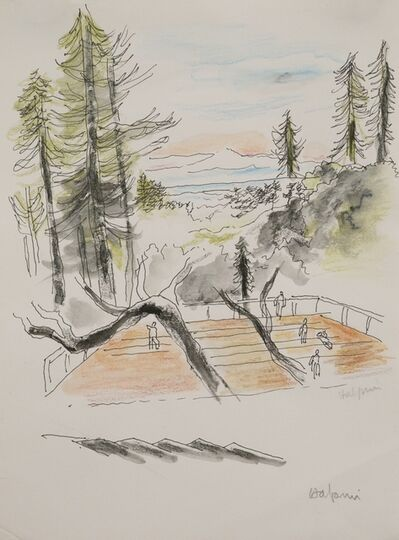 Lawrence Halprin, 'Dance Deck, Kentfield', 1985