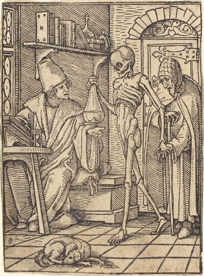 Hans Holbein the Younger, 'Physician'