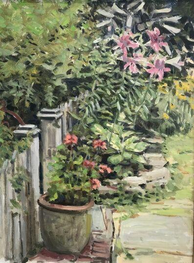 Richard Crozier, 'Geraniums', 2018