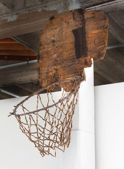 Tim Hawkinson, 'Man of Sorrows (basketball hoop)', 2015