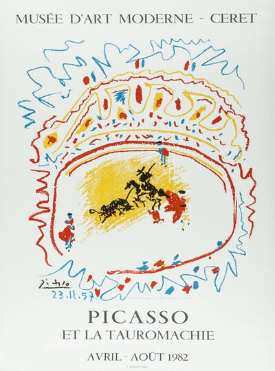 Pablo Picasso, 'Picasso et la Tauromachie', 1982