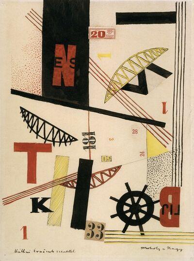 László Moholy-Nagy, 'Bridges 1 K 33', 1920