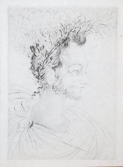 Salvador Dalí, 'Les Amours de Cassandre. Portrait de Ronsard', 1968