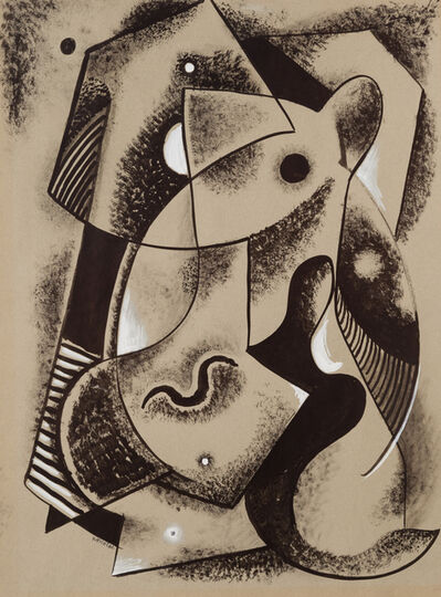 John Von Wicht, 'Abstract Figures'