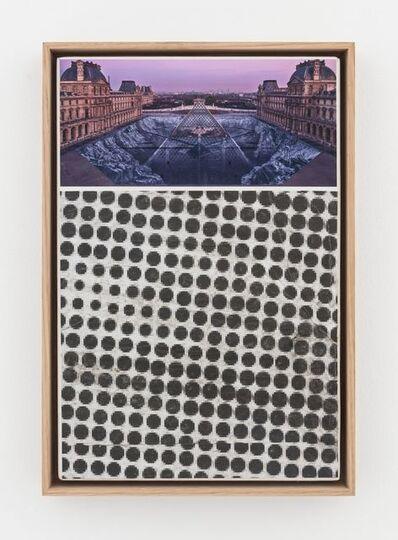 JR, 'JR au Louvre et le Secret de la Grande Pyramide, Relique #26 © Pyramide, architecte I. M. Pei, musée du Louvre, Paris, France', 2019
