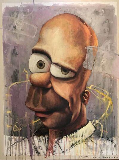 """Santiago Garcia, '""""Homero""""', 2016"""