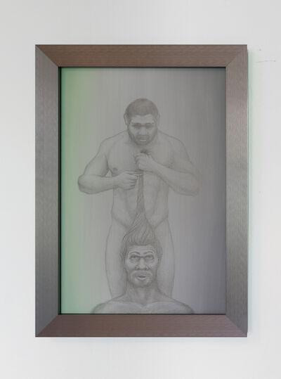 Rasmus Myrup, 'Homo Homo Neanderthalensis (Hair Cut Cuties)', 2021