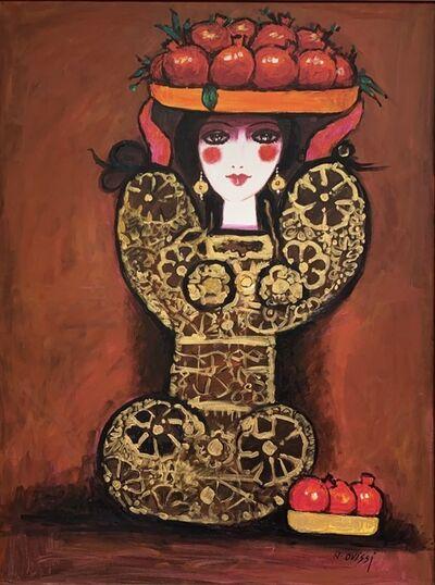 Nasser Ovissi, 'Pomegranate Seller', 2017