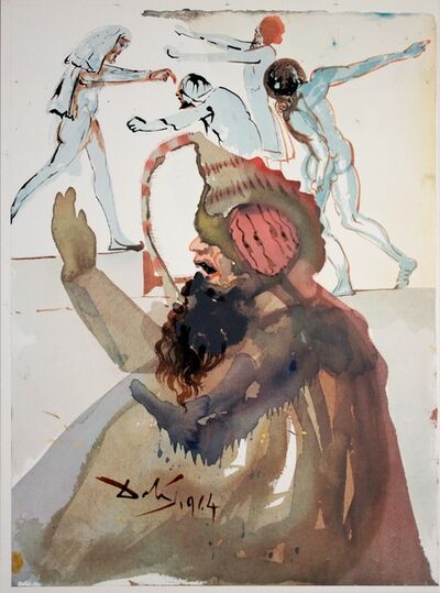 Salvador Dalí, 'Joseph And His Brothers In Egypt', 1964-1967