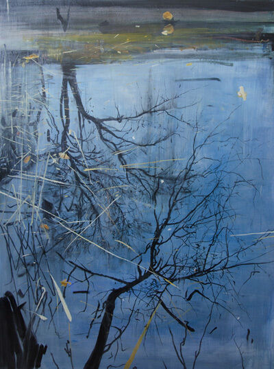 Calum McClure, 'Two Tree Reflections, Planten un Blomen', 2017