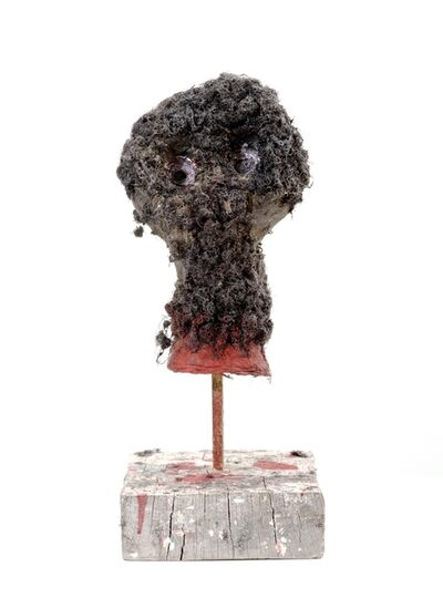 Adjani Okpu-Egbe, 'A French Soldier 's Trophy Head in Cameroon 1950's/1960's', 2019