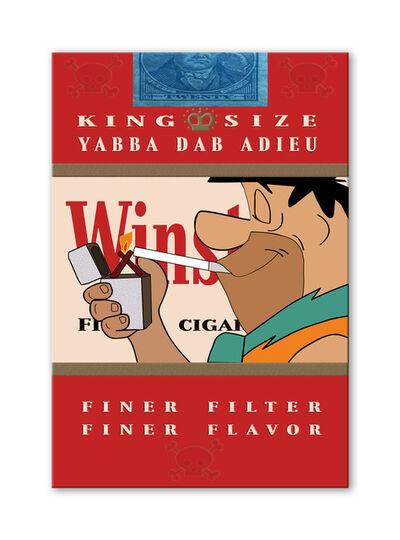 Jana Nicole, 'YABBA DAB ADIEU 9 Limited Edition of 100, Winstons Cigarettes, hand embellished.', 2016