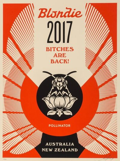Shepard Fairey, 'Bitches are Back!', 2017