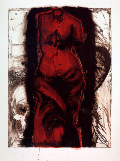 Jim Dine, 'Woman on Fire in Vienna', 1993