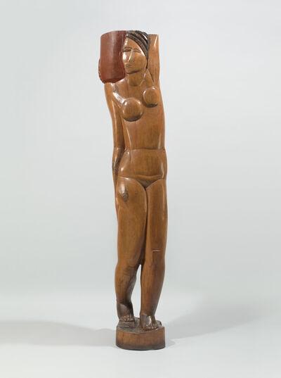 Ossip Zadkine, 'Jeune fille à la cruche ', 1920