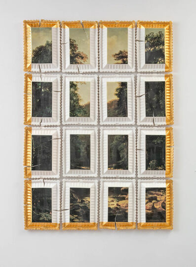 Evan Hauser, 'Preservation & Use #3 (Landscape with River, George Hetzel, 1880)', 2018