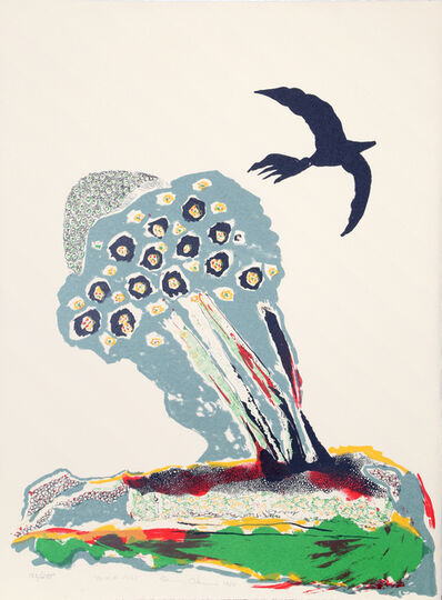 Benny Andrews, 'Black Bird', 1980