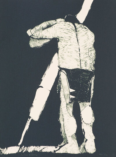Fritz Scholder, 'The Odyssey #2 (First State) (T: 76-663a)', 1976