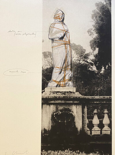 Christo, 'Venus, Project for Villa Borghese, Rome', 1974