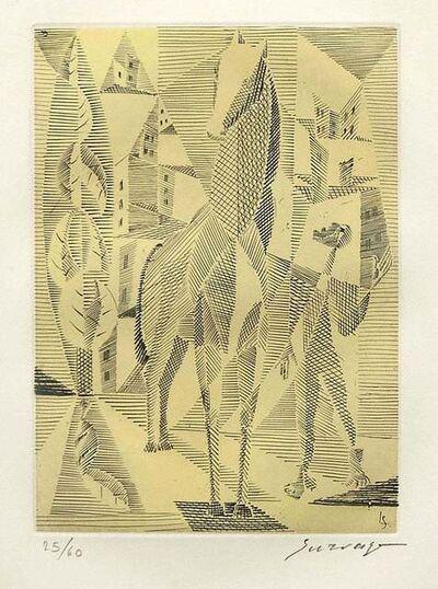 Leopold Survage, 'Horse', 1953