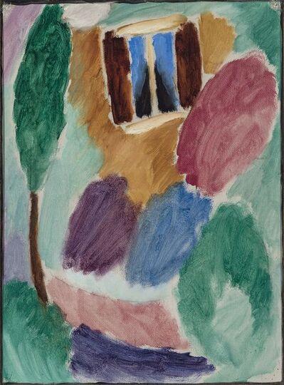 Alexej von Jawlensky, 'Variation Atelierfenster', 1915