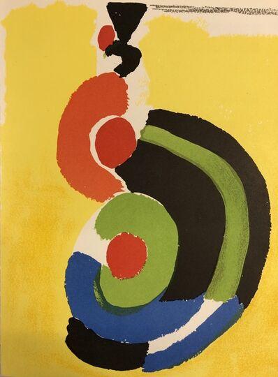 Sonia Delaunay, 'Composition géométrique', 1972