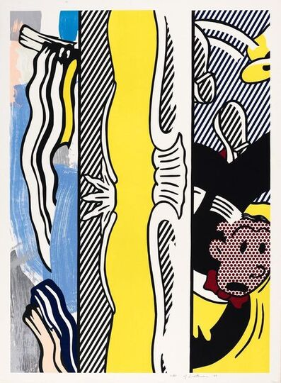 Roy Lichtenstein, 'Two paintings: Dagwood', 1984