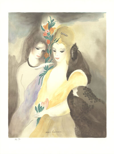 Marie Laurencin, 'Girls with Flowers', 1965