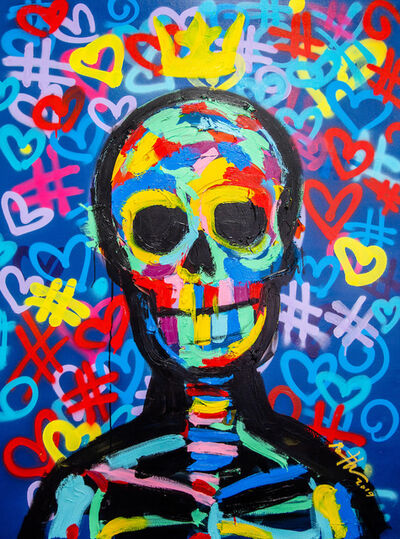 Bradley Theodore, 'Street Skull', 2018