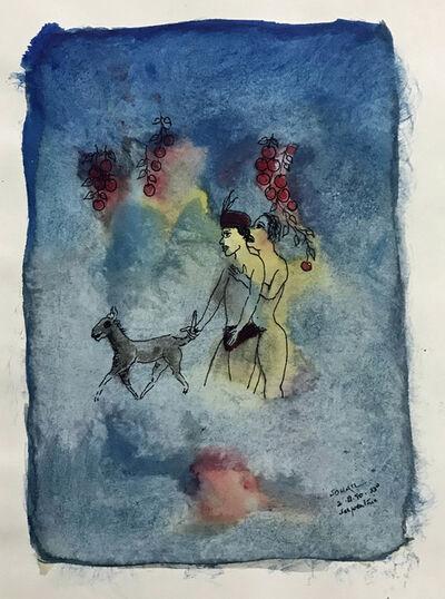 Tasaduq Sohail, 'Serpentine', 1990