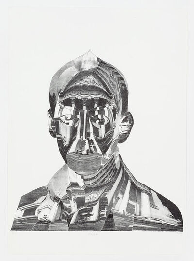 Thomas Bayrle, 'Portikus – Kasper II', 1990