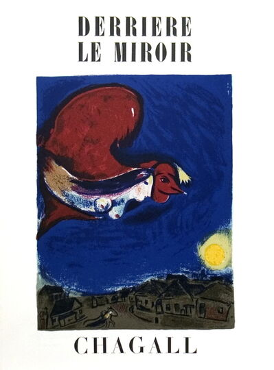 Marc Chagall, 'Derriere Le Miroir no. 27-28 Cover', (Date unknown)