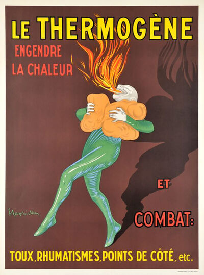 Leonetto Cappiello, 'LE THERMOGENE', ca. 1909
