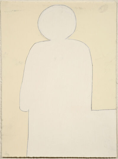 Julian Martin, 'Untitled (White on Cream)', 2010