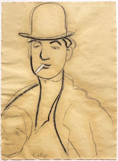 R. B. Kitaj, 'Jules Pascin', 2005