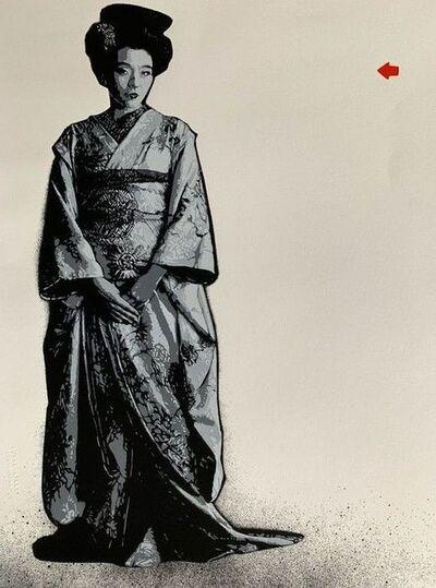 Jef Aérosol, 'Geisha', 2012
