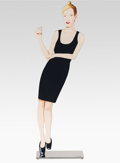 Alex Katz, 'Black Dress (Oona)', 2018